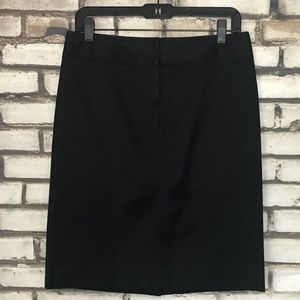 J. Crew Stretch Black Pencil Skirt 4